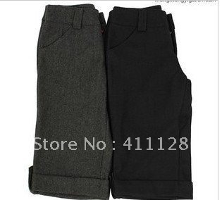 Hot pants large size of the 2012 autumn and winter female new  woolen pants Winter Shorts