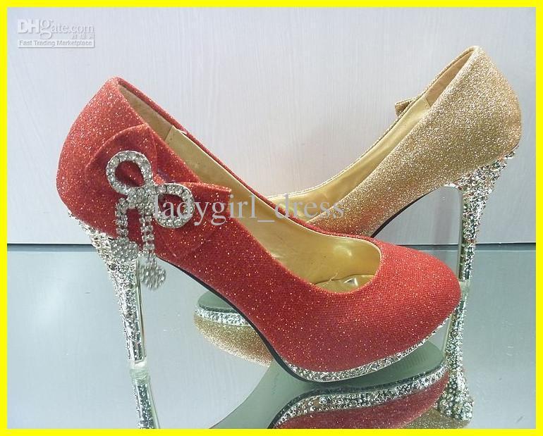 Hot promotion Beautiful Gold Heels Beaded Lady Girl Bridal Wedding Shoes size 34---39.