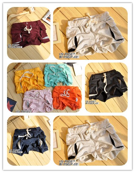 Hot Sale 2012 Female Casual Pants, Roll-up Hem Pockets Cotton Sports Pants,Stylish short pants,Top Quality Women shorts