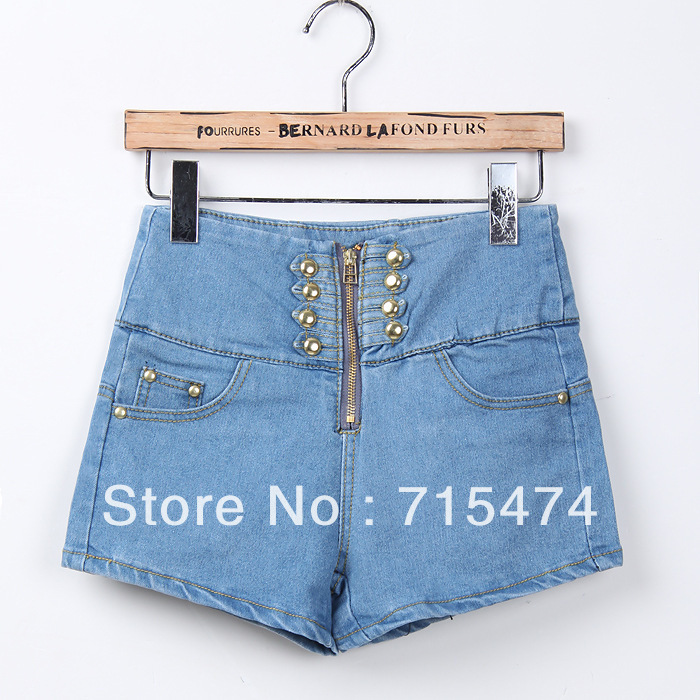 hot sale!!! 2013 Lady denim shorts,women's jeans shorts,hot sale ladies' denim short pants size:S M L,free shipping