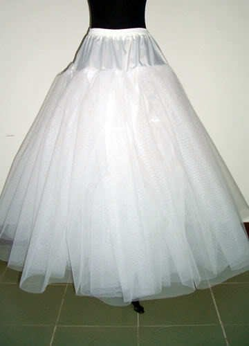 Hot sale A-line 4 Layers NO-Hoop Net Crinoline/Petticoat/Underskirt/bridesmaid dresses