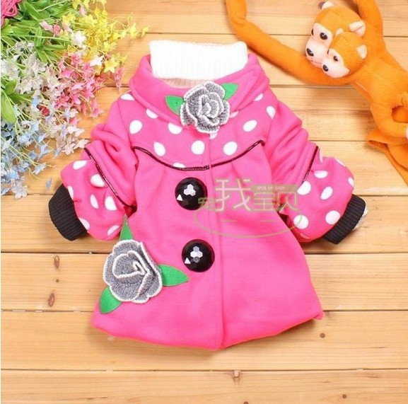hot sale!! autumn and winter child outerwear children coat children clothing girl jackets girl's outwear.