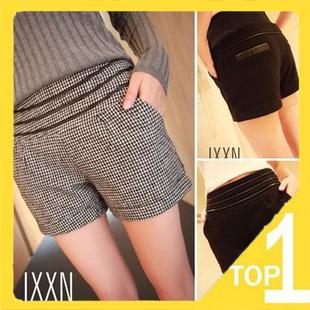 Hot sale! New Korean 2013 Casual Slim women shorts Swallow Gird short pants fashion style (1.8)