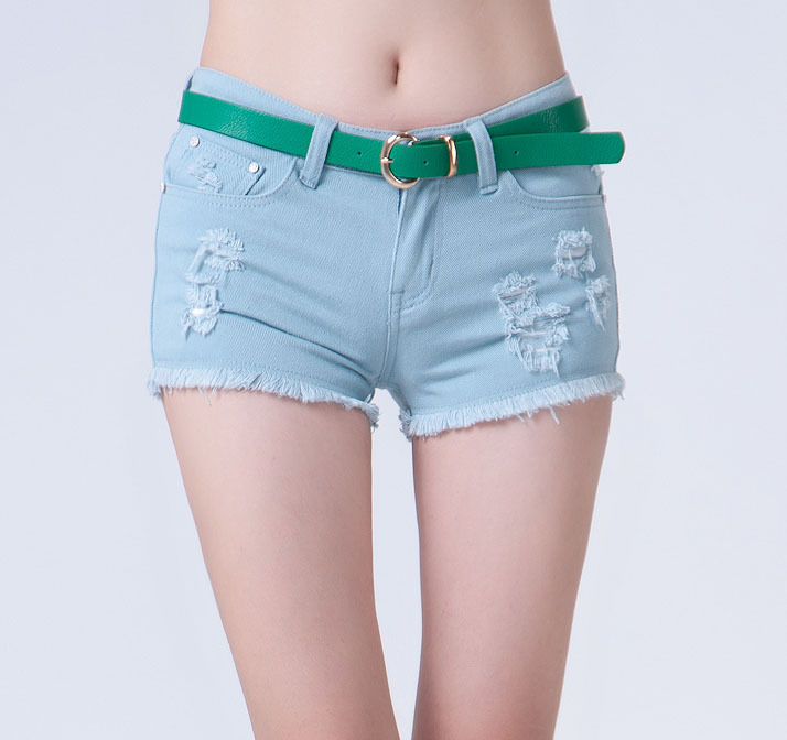 Hot Sale! With Belt! 2012 New Brand Women Clothes Fashion Sexy Shorts for Women, Hot Pants, Leisure Shorts, Free Shipping JD502