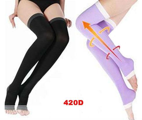 Hot Sale Women Sleep Slimming 480D Socks,Varicose Veins Tight Stockings,Ladies Leg Shaper,Free Shipping 2 colors boots