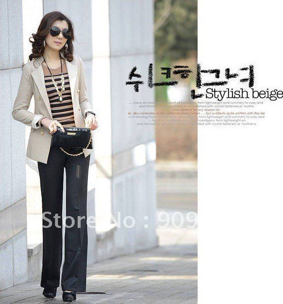 Hot Sales! Free Shipping 2012 Fashion OL Style Suits Separates! Lady's Fashion Outerwears! Slim Suit Separates!