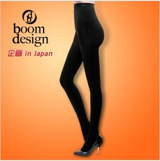 Hot selling Boomdesign Brand leggings 880d thickening plus velvet thermal stovepipe socks leg socks pantyhose fat burning