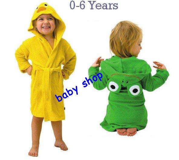 hot selling!!!Japan LINDALINDA cartoon children bathrobes bath robe(10pcs/lot)