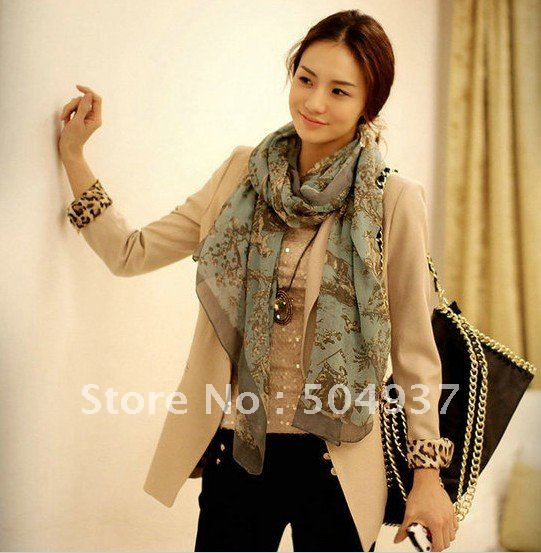 Hot Selling Women Popular  Casual Suit Blazer Leopard Lining,Ms.Chic Jacket, Lady Outwear,Free shipping W0013