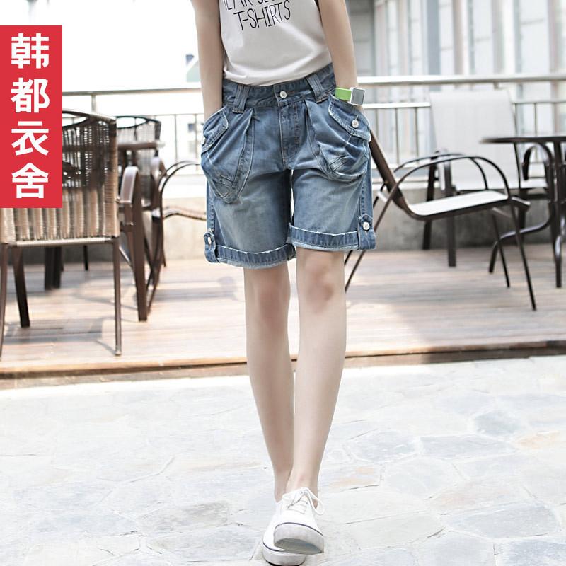 HSTYLE 2012 AMIO women's mid waist denim shorts nn2185l01