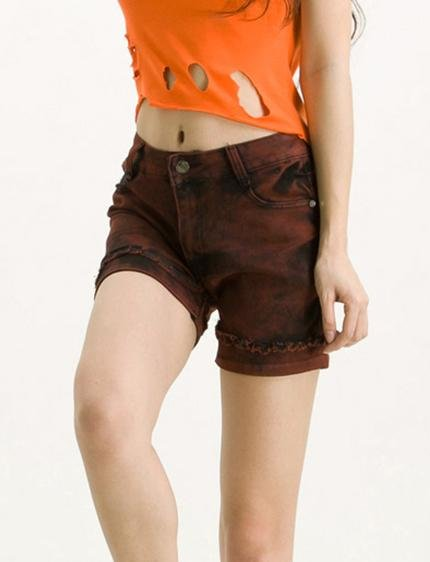 In candy colors waist bull-puncher knickers female chun xia fashionable fabrics soft simple sense is good for Sue edge