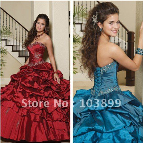 In Fashion Elegant Ball Gown Strapless Full Length Appliqued Plus Size Quinceanera Dress