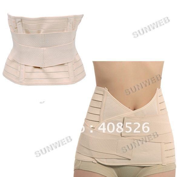 Invisible Tummy Trimmers Waist Trimmer Belt Slimming Belt Perfect Curve Look Thinner body building belt free shipping 5898