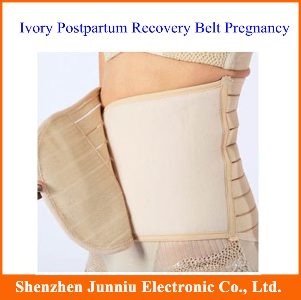Ivory Postpartum Recovery Belt Pregnancy Girdle Tummy Band Slim Slimming Belly L/XL/XXL Size Free Shipping