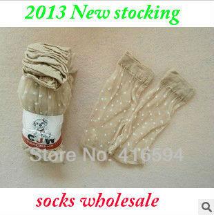 Jacquard Crystal  women's stockings short stocking socks  wholesale ladies' stockings socks summer free shipping
