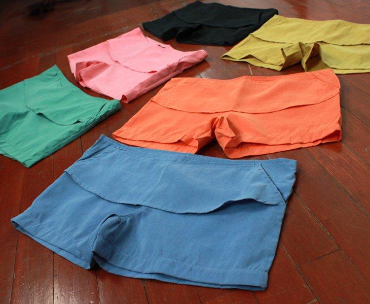 Jc fashion wind 2012 multicolour single-shorts shorts women's casual shorts shorts 2