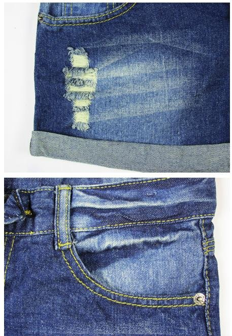 Jeans female han edition tide bull-puncher knickers hot pants female shorts female summer bull-puncher knickers is summer