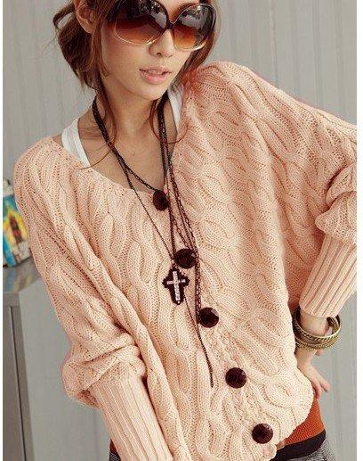 JJ9087 Cloak type small coat sweater