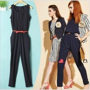 jumpsuit women 2013 rompers womens jumpsuit one piece jumpsuit for women free shipping