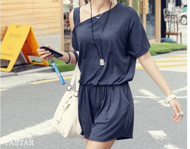 Korean/Japan women's fashion Cotton jumpsuits/Rompers ladie's elegant casual overall/Jumpsuit /Black,Gray,Apricot,X2291