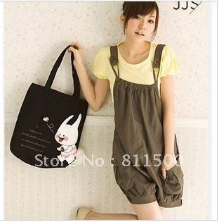 korean loose leisure straps lanterns shorts / the kangaroos pants / Rompers / piece pants / jumpsuit