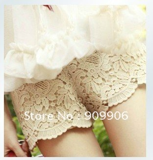 Lace Safety Shorts Leggings Hot Under Pants Cute Skirt