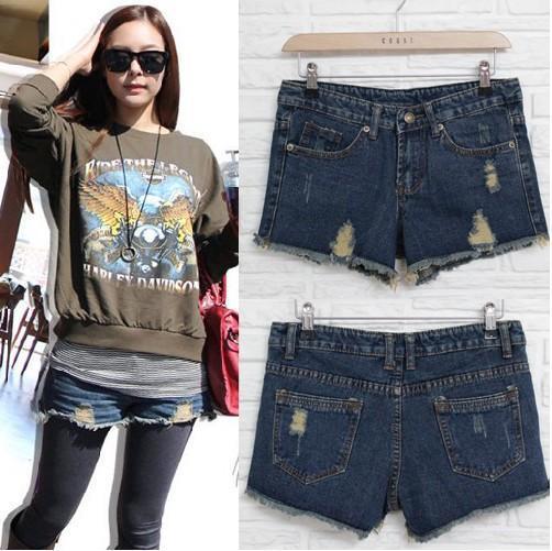 Lady denim shorts,women's jeans shorts,hot sale ladies' denim short pants  size:S M L,free shipping