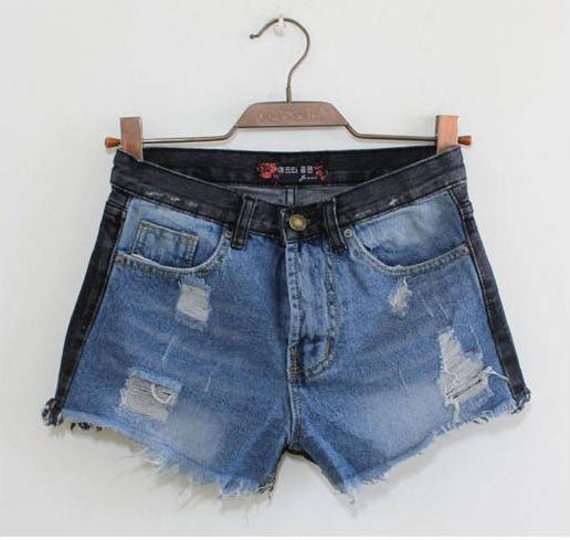 Lady denim shorts,women's jeans shorts,hot sale ladies' denim short pantsI062 size:S M L,free shipping