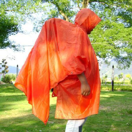 Large canvas shade-shed three-in professional hiking raincoat