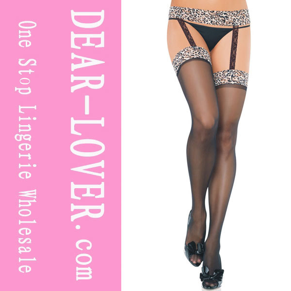 Leopard Suspender Pantyhose  LC79123 Cheap price Free Shipping Drop Shipping