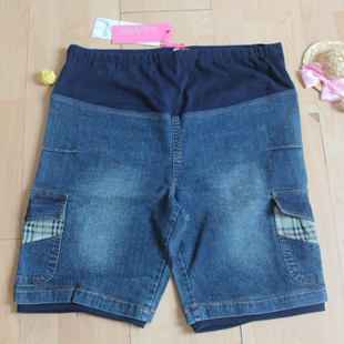 Maternity clothing 2012 summer fashion maternity pants maternity shorts maternity denim shorts belly pants