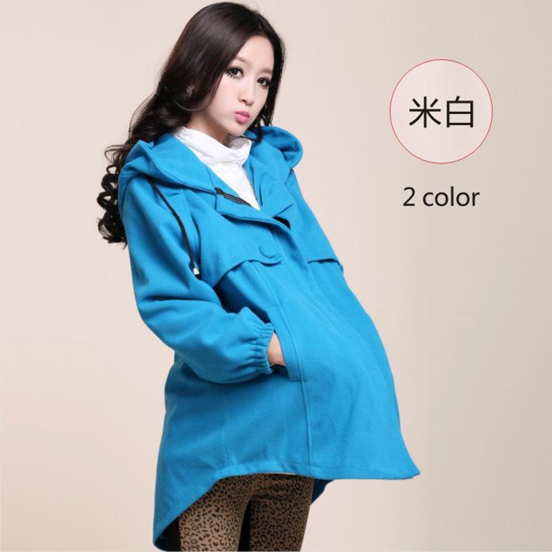 Зимние пальто для беременных 13