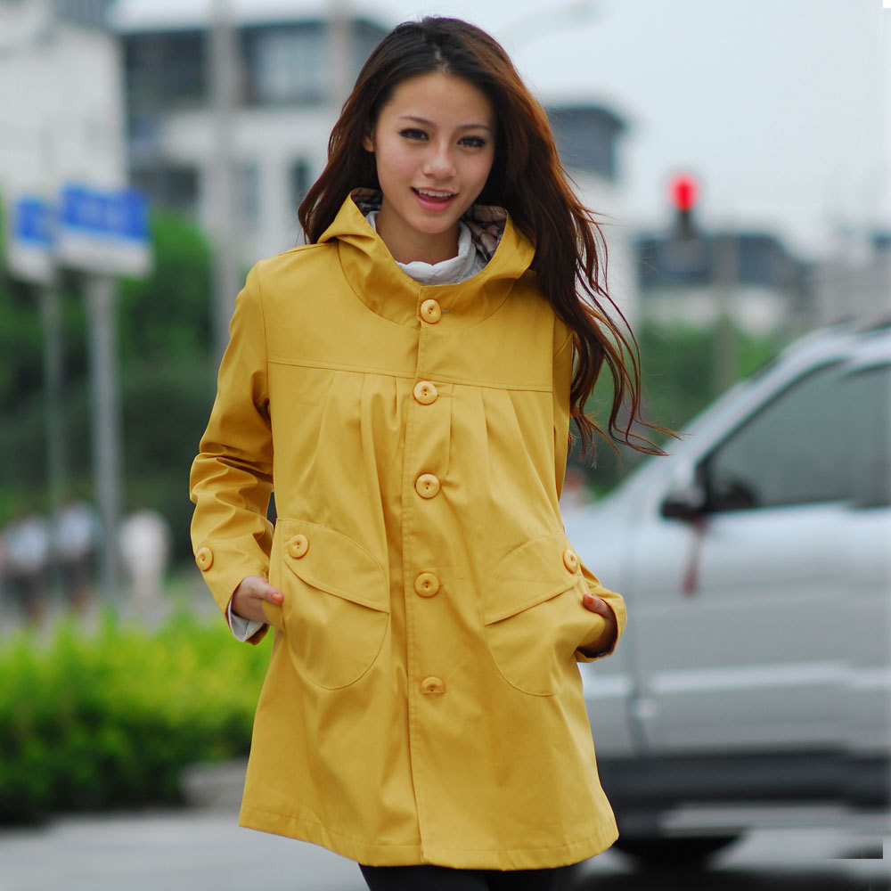 Maternity clothing autumn and winter maternity casual hooded outerwear