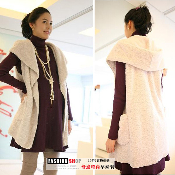 Maternity clothing autumn and winter maternity top autumn