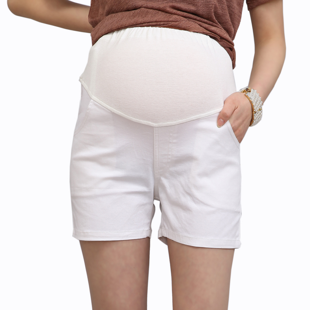 Maternity clothing summer maternity pants casual all-match maternity belly pants shorts comfortable fashion 11353