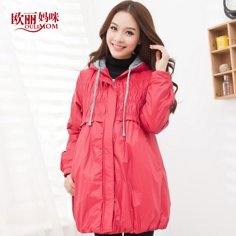 Maternity clothing winter 5 thermal maternity wadded jacket cotton-padded jacket maternity outerwear autumn and winter top