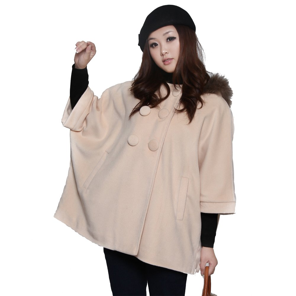 Maternity clothing winter raccoon fur fine cashmere maternity overcoat cashmere overcoat mantissas 10993