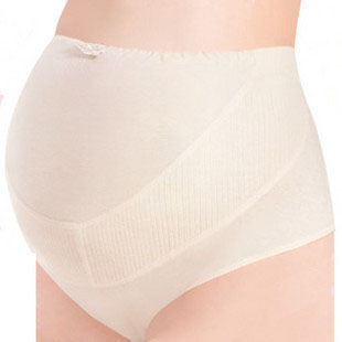 Maternity shorts 100% cotton briefs maternity pants high waist belly panties baby products