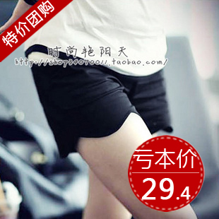 Maternity shorts summer wave belly pants maternity clothing ew1806 maternity pants