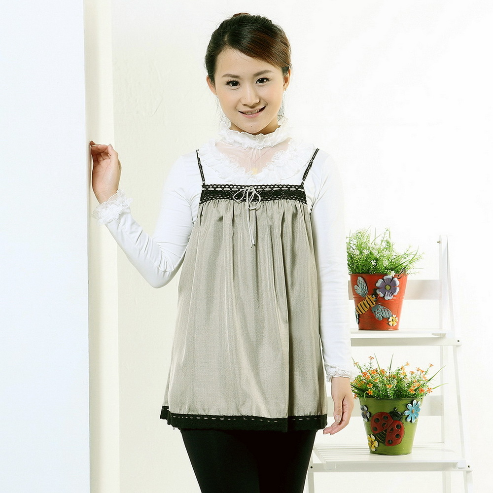 Mbaby maternity radiation-resistant silver fiber radiation-resistant maternity clothing radiation-resistant clothes m8835
