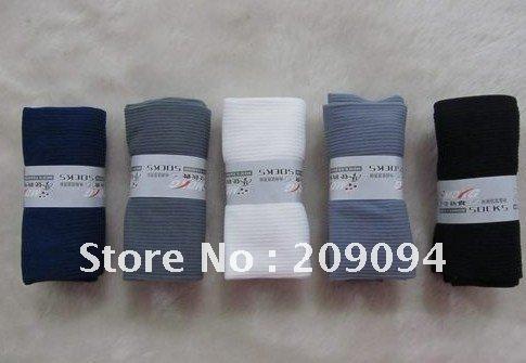 men's and women's summer fashion long thin socks 5pair\bag free shipping  5 color/bag