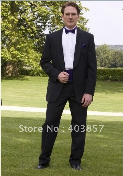 Men Suit  Popular Wedding Tuxedo Suit  Black Wedding Suits  Tailor Suit  Men Wedding Suit  Shawl Collar 266