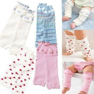 Min Order $10(mixed order) Retail 2012 newest style brand cotton baby leg warmers ,  hand warmers