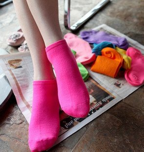 Min Order $10(mixed order) Retail  Anklet  cotton sports socks