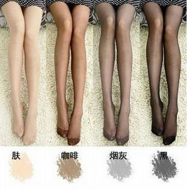 Min Order $20 (mixed order) Retail Fashion Ladies Super-Thin Tights Pantyhose / Sexy 4 Color Leggings Socks (SM-25)