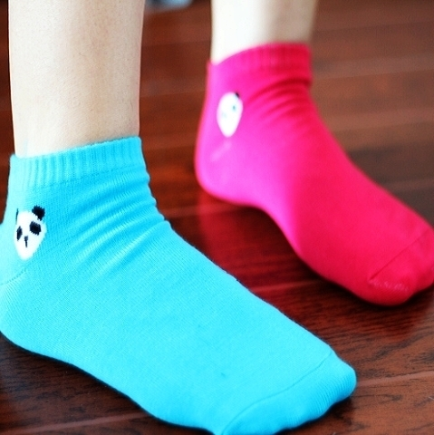 Min.order is $15 (mix order) New style fashion candy color sock / socks women S017