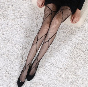 MIX-ORDER 10USD 2013 New Sexy big Mesh vintage pantyhose For Women Fishnet Black Women's Socks and tights #P0031-625