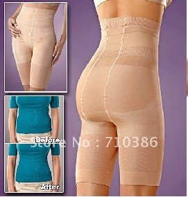 MOQ 10/pcsLots Nude&Black size S to XXXL ,Slim 'n Lift Slimming Pants slimming shaper slim lift CR003
