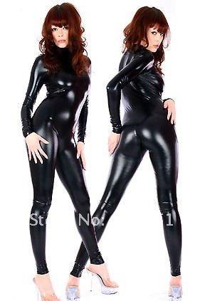 Mummy Lycra Zentai Spandex Catsuit Costume black  F054