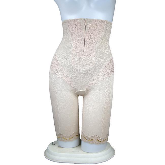 Nano bamboo charcoal high waist pants abdomen drawing stovepipe bottom butt-lifting body shaping pants corset pants beauty care